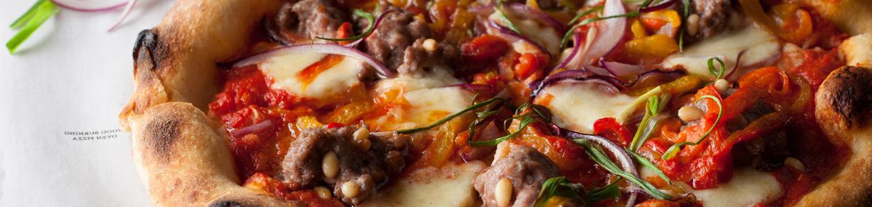 Кафе Bklyn: Brooklyn Pizza Pie. Москва Б.Никитская, 23/14/9