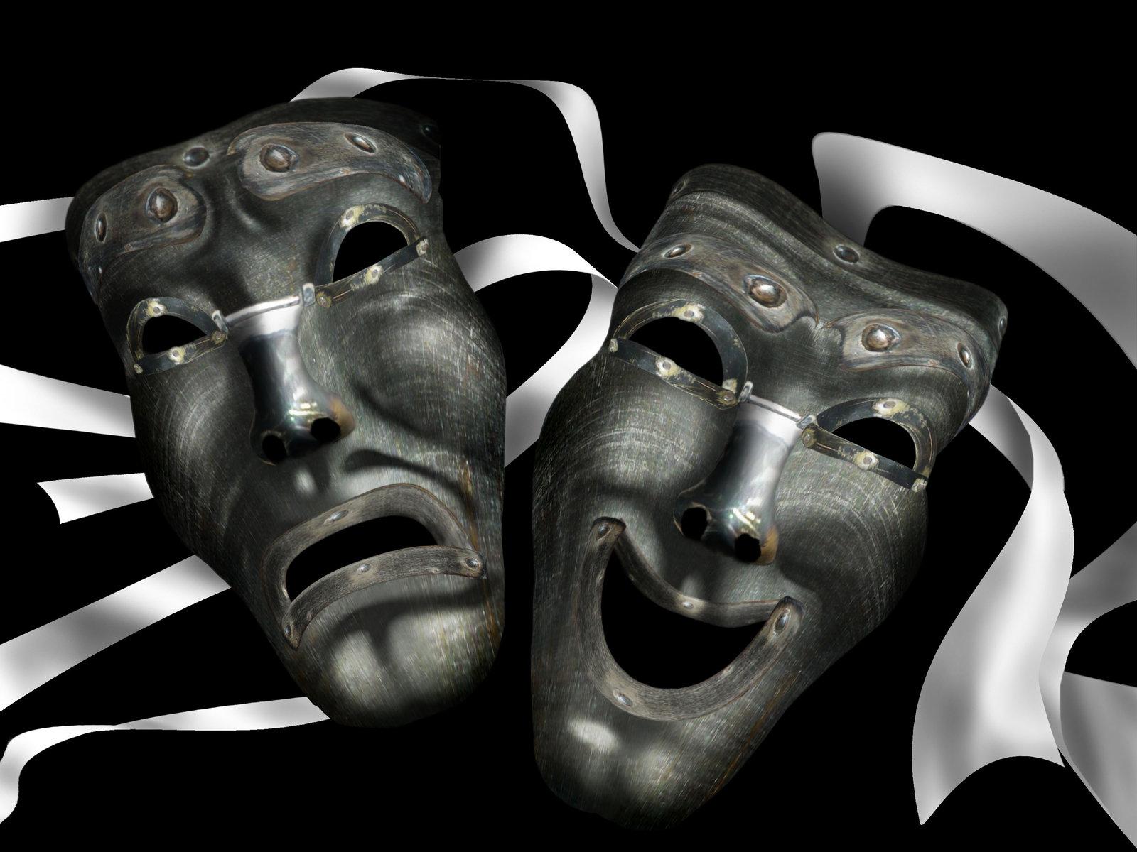 работникам театральные маски фото гифки мамой