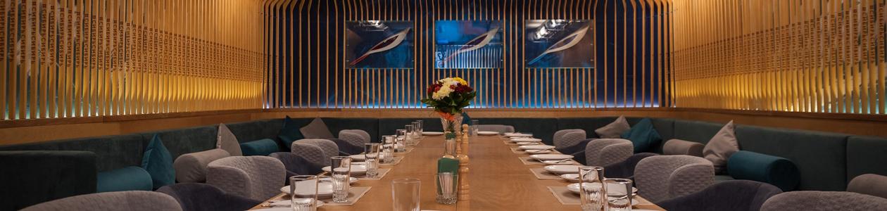 Ресторан Сибирьсибирь. Новосибирск Ленина, 21, в здании отеля «Azimut Сибирь», 1 этаж
